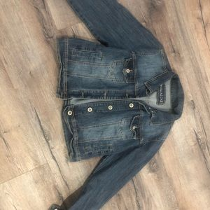 Maurices Jean jacket size 0x